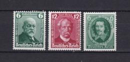 Deutsches Reich - 1936 - Michel Nr. 604/605+608 - Postfrisch - 17 Euro - Deutschland