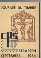 Journée Du Timbre - Strassen 1984 (Luxembourg) - Postverwaltungen