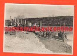 II WW  Fronte Greco Albanese Genio Ricostruzione Passerella Sul 1941 Circa - Guerra, Militari