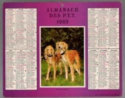 Calendrier Almanach Des P.T.T 1969 - Complet Avec Carte De France - Petit Format : 1961-70
