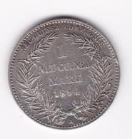 Nb_ Deutsch - Neuguinea - 1 Mark - 1894  (2) - German New Guinea