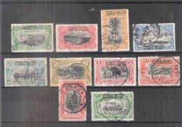 Congo Belge - 40/49 - Série Complète - Obl/gest/used (à Voir - Te Zien) - 1894-1923 Mols: Gebraucht