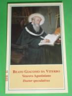 Beato GIACOMO Da VITERBO Convento SS.Trinità - Vescovo Agostiniano - Santino - Santini