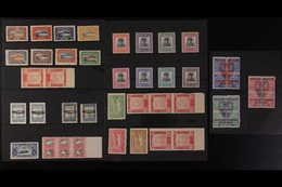 1870-1959 FABULOUS ASSEMBLY IN PACKETS A Fine Mint Accumulation Sorted Into Glassine Packets Identified With Scott Catal - Paraguay