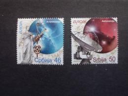 Serbien      Astronomie  Europa Cept    2009  ** - Europa-CEPT