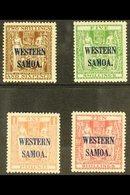 1945-53 2s 6d - £1 Postal Fiscals, SG 207/10, Very Fine Mint. (4 Stamps) For More Images, Please Visit Http://www.sandaf - Samoa