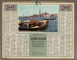 Calendrier Almanach Des P.T.T 1957 - Calendriers