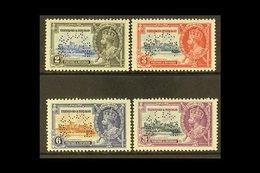 "1935 Silver Jubilee Complete Set Perf ""SPECIMEN"", SG 239s/242s, Fine Mint. (4 Stamps) For More Images, Please Visit Http - Trinidad & Tobago (...-1961)"