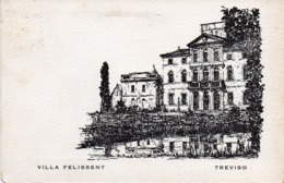 Treviso - Villa Felissent - Fg Vg - Treviso