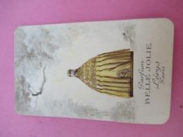 Carte Publicitaire Parfumée/Parfum Belle Jolie/ Lérys Paris/Parfumerie OSIRIS/Hélary/Rue De Siam/ BREST/1922   PARF202 - Perfume Cards