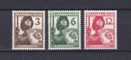 Deutsches Reich - 1937 - Michel Nr. 643/645 - Postfrisch - 15 Euro - Deutschland
