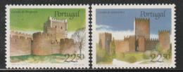 PORTUGAL - N°1665/6 ** (1986) Châteaux  (II) - Ongebruikt