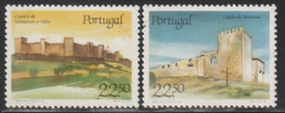 PORTUGAL - N°1676/7 ** (1986) Châteaux  (III) - Ongebruikt