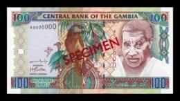 Gambia 100 Dalasis 2001-2005 Pick 24b Specimen SC UNC - Gambia