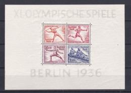 Deutsches Reich - 1936 - Michel Nr. Block 6 - Ungebr. - 50 Euro - Alemania