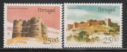 PORTUGAL - N°1685/6 ** (1987) Châteaux  (IV) - Ongebruikt