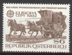 Österreich 1713 ** Postfrisch - 1981-90 Ongebruikt