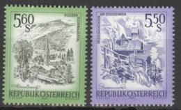 Österreich 1710/11 ** Postfrisch - 1981-90 Ongebruikt
