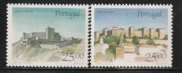 PORTUGAL - N°1709/10 ** (1987) Châteaux  (VI) - Ongebruikt