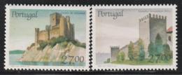 PORTUGAL - N°1716/7 ** (1988) Châteaux  (VII) - Ongebruikt