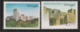 PORTUGAL - N°1729/30 ** (1988) Châteaux  (VIII) - Ongebruikt