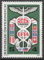 Österreich 1813 ** Postfrisch - 1981-90 Ongebruikt