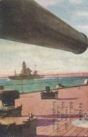 JAPAN WAR,  WARSHIP, , Illustrated Postcard - Japan