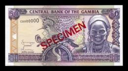 Gambia 50 Dalasis 2001-2005 Pick 23c Specimen SC- AUNC - Gambia