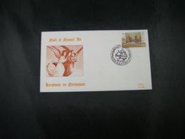 "BELG.1992 2488 FDC Soie/zijde (Kalmthout) :  ""  Kerstmis / Noél 92  "" - 1991-00"