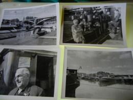 15 PHOTOS DE PENICHES ET DE BATELLERIE (Agence De Presse Libération Bruxelles) 16 X 18 - Schiffe