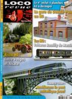 Loco Revue N°708 Entre Vosges Et Alsace - Voitures Romilly De Massini - Améliorons Le Pont Métallique Jouef De 2006 - Livres Et Magazines
