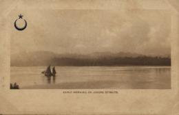 Malay Malaysia, JOHOR JOHORE, Early Morning On Johore Straits (1899) Postcard - Malaysia