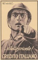 Cartolina Postale ... Sottoscrivete ! CREDITO ITALIANO. Nuova. - Documenten