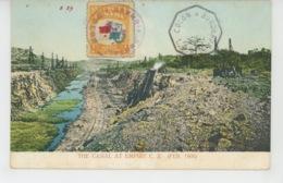 PANAMA - The Canal At Empire C.Z. (Feb. 1906) - Panama