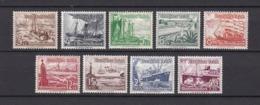 Deutsches Reich - 1937 - Michel Nr. 651/659 - Ungebr./Postfrisch - Alemania