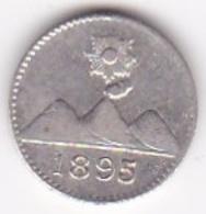 Guatemala 1/4 Real 1895 En Argent KM# 162 - Guatemala