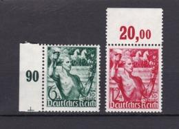 Deutsches Reich - 1938 - Michel Nr. 660/661 - SR+OR - Postfrisch - 36 Euro - Alemania