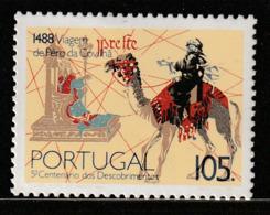 PORTUGAL - N°1720 ** (1988) L'explorateur Pero Da Covilha - 1910-... Republic