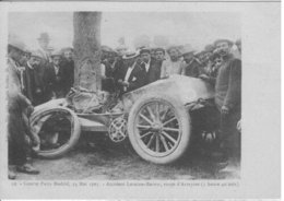 COURSE PARIS MADRID    ACCIDENT LORAIONE BAROW   ROUTE D '  ARVEYRES - Sport Automobile