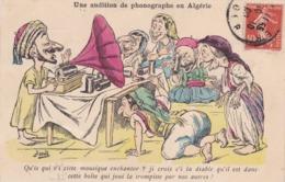 UNE AUDITION DE PHONOGRAPHE EN ALGERIE / ASSUS - Altre Illustrazioni
