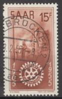 Saarland 358 O - 1947-56 Ocupación Aliada