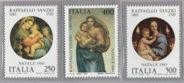 "FR.NU.0542 - REPUBBLICA 1983 - ""NATALE"" Serie Di 3 Valori Nuovi** Da L.250-400-500 - 6. 1946-.. Repubblica"