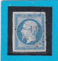 N° 14 Af Bleu Laiteux    PC N° 1974   LE MESLE-SUR-SARTHE   (59)  ORNE  - REF 14017 - 1853-1860 Napoléon III.