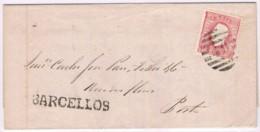Portugal, 1874, # 40 Dent. 12 3/4, Barcelos-Porto - 1862-1884 : D.Luiz I