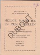 EDINGEN/ENGHIEN/HOVES Heilige Mauritius 1935   (R62) - Libros, Revistas, Cómics