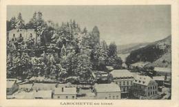Pays Div-ref U980- Luxembourg - Luxemburg  - Larochette En Hiver   - - Larochette