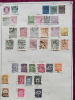 TURKEY 1865-1908 OLD ALBUM PAGE - 1858-1921 Osmanisches Reich