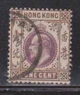 HONG KONG Scott # 71 Used - King Edward VII - Used Stamps