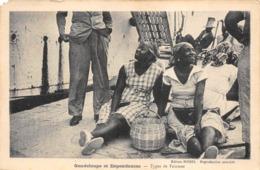 GUADELOUPE TYPE DE FEMMES RARE - Guadeloupe