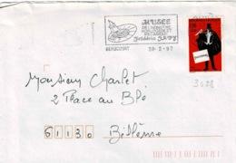 TP N ° 3028 Seul Sur Enveloppe De  Beaucourt - Marcophilie (Lettres)